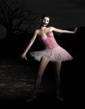 Evil, Ominous Halloween Ballerina Doll Stock Image