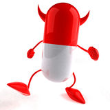 Evil pill Stock Photos