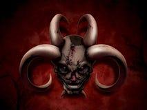 Evil portrait Stock Photography
