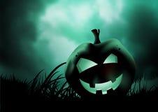 Evil Pumpkin stock illustration