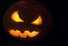 Free Evil Pumpkin Royalty Free Stock Images - 6664359