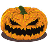 Evil Pumpkin Royalty Free Stock Photos