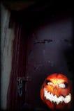Evil Pumpkin - Jack O Lantern Royalty Free Stock Photo