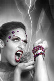 Evil Queen Royalty Free Stock Image
