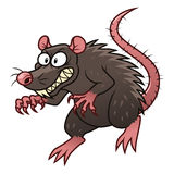 Evil rat Stock Photo