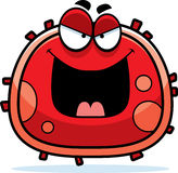 Evil Red Blood Cell Stock Image