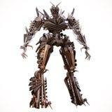 Evil robot Vector Illustration