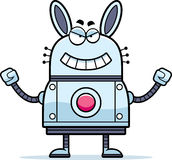 Evil Robot Rabbit Stock Image
