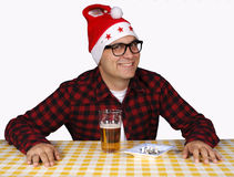 Evil santa Royalty Free Stock Photography