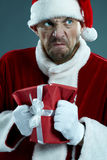Evil Santa Royalty Free Stock Images