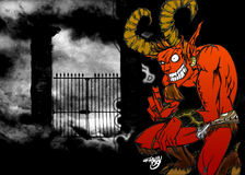 Evil Satyr Stock Photos