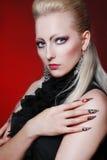 Evil sexy woman Royalty Free Stock Photo