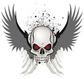 Evil skull Royalty Free Stock Photography