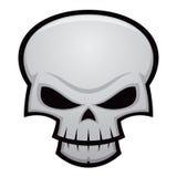 Evil Skull Stock Image