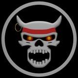 Evil Skull Stock Photo