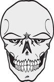 Evil Skull Stock Photography