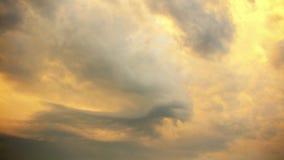 Evil sky timelapse stock footage