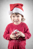 Evil smile Santa Royalty Free Stock Photo