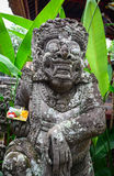 Evil statue at the temple in Bali, Indonesia Royalty Free Stock Image