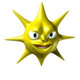 Evil Sun Stock Image