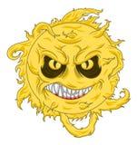 Evil sun Royalty Free Stock Photos