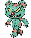 Evil teddy bear. Vector illustration of Evil teddy bear Royalty Free Stock Photo