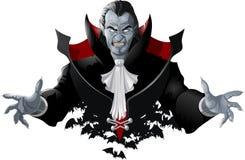 Evil vampire picture Stock Photos