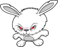 Evil Vampire Rabbit Vector Royalty Free Stock Photo