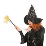 Evil witch googling Stock Photos