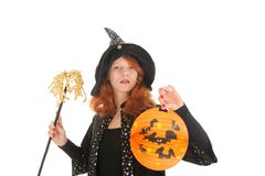 Evil witch for halloween Royalty Free Stock Image