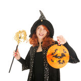 Evil witch for halloween Stock Photo
