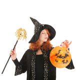 Evil witch for halloween Stock Photography