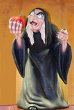 Evil Witch Holding Apple Royalty Free Stock Photo