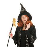 Evil witch Stock Images