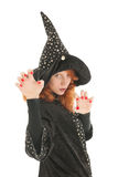 Evil witch Royalty Free Stock Image