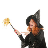 Evil witch Royalty Free Stock Photography
