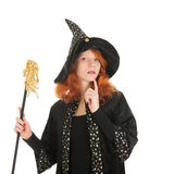 Evil witch Stock Image