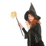Evil witch Stock Photography