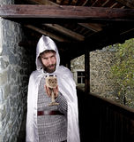 Evil wizard Stock Photography