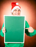 Evile Papá Noel Imágenes de archivo libres de regalías