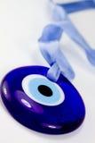 Evileye azul Imágenes de archivo libres de regalías