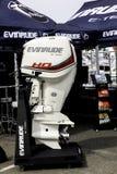 Evinrude E teknisk fartygmotor Arkivbild