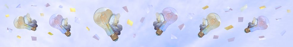 Evironment o reunión de reflexión sano Bombillas que vuelan en el cielo como butterflyes foto de archivo libre de regalías