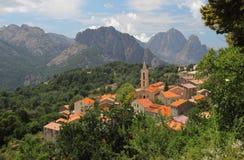 Evisa, Corsica, Francia Fotografia Stock Libera da Diritti