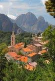 Evisa, Corsica, Frankrijk Stock Foto's