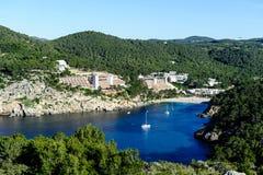 Evissa island bay Stock Photo