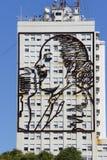 Evita auf Radiosender in Argentinien Stockfotos