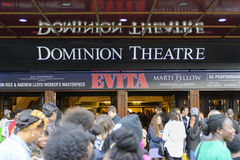 Evita at the Dominion Theatre Stock Photography