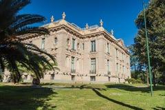 Evita Fine Arts Museum no palácio de Ferreyra, Córdova, Argenti imagens de stock royalty free