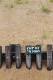 Evite las dunas Fotografía de archivo libre de regalías